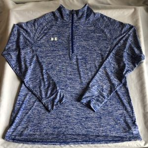 Under Armour Pullover HeatGear 1/4 Zip Long Sleeve